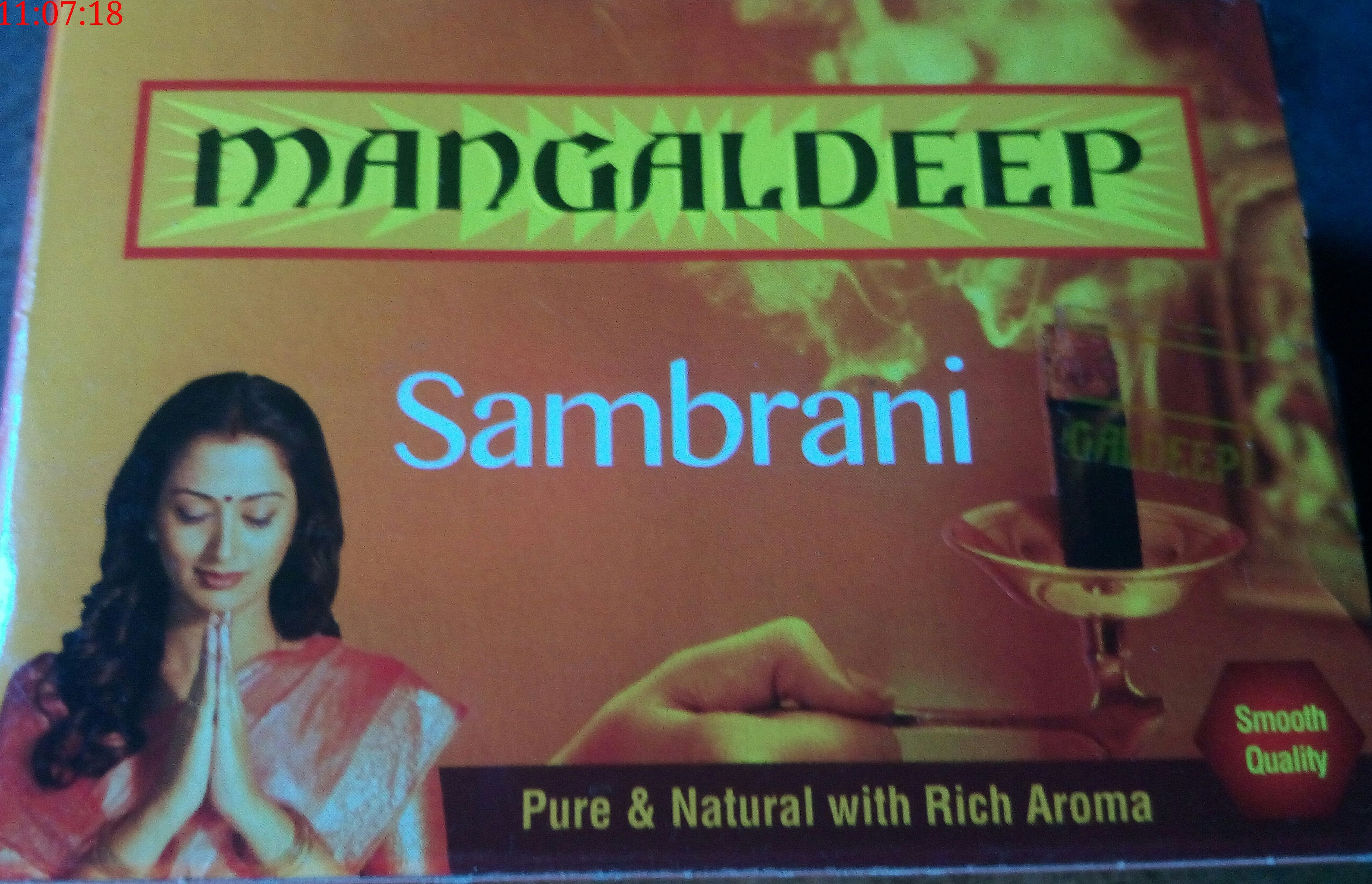 Mangaldeep Sambrani Sticks ( 20 Sticks )